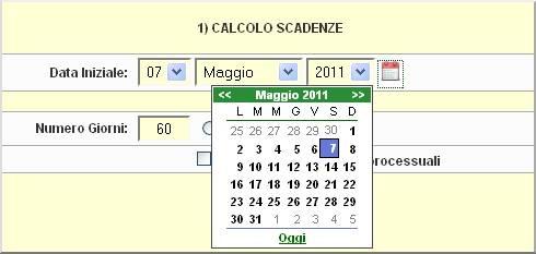 Calcolo Giorni Calendario.Nuovo Calendario Popup Nelle Utility Di Calcolo Scadenze E