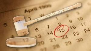 In vigore dal 2015 i nuovi termini di sospensione feriale
